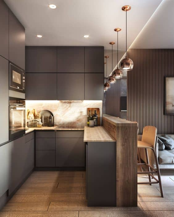 simple ceiling solutions for kitchens