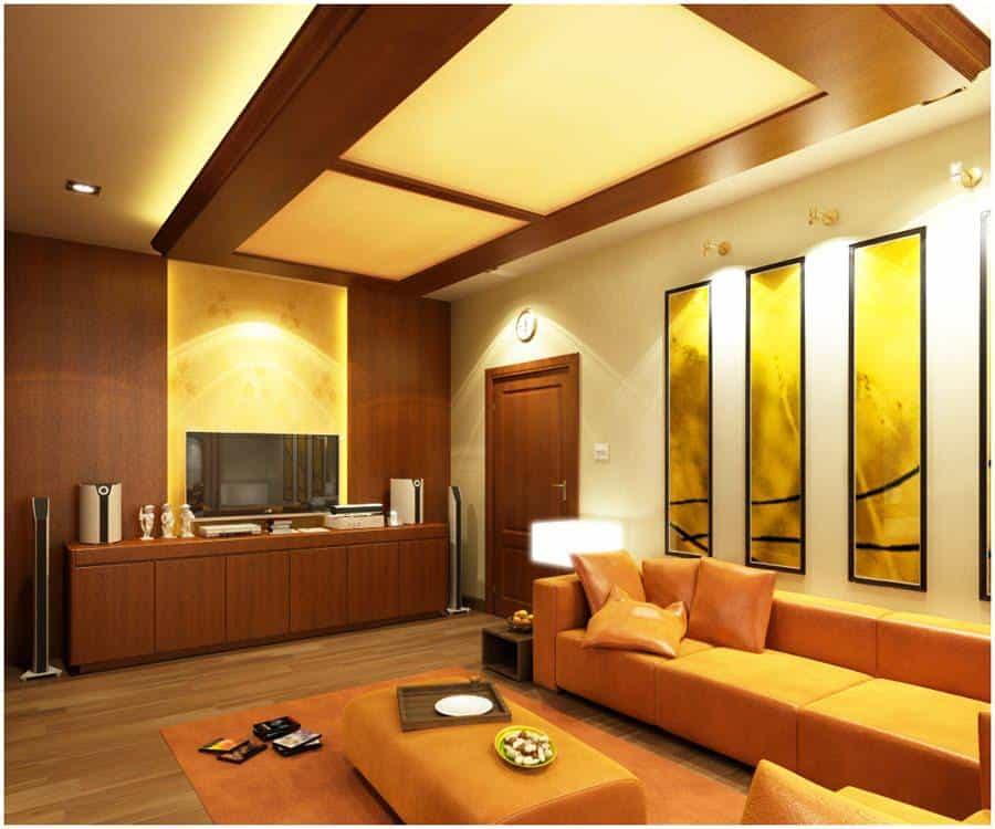 wooden false ceiling design