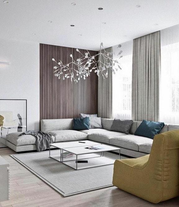 simple white false ceiling