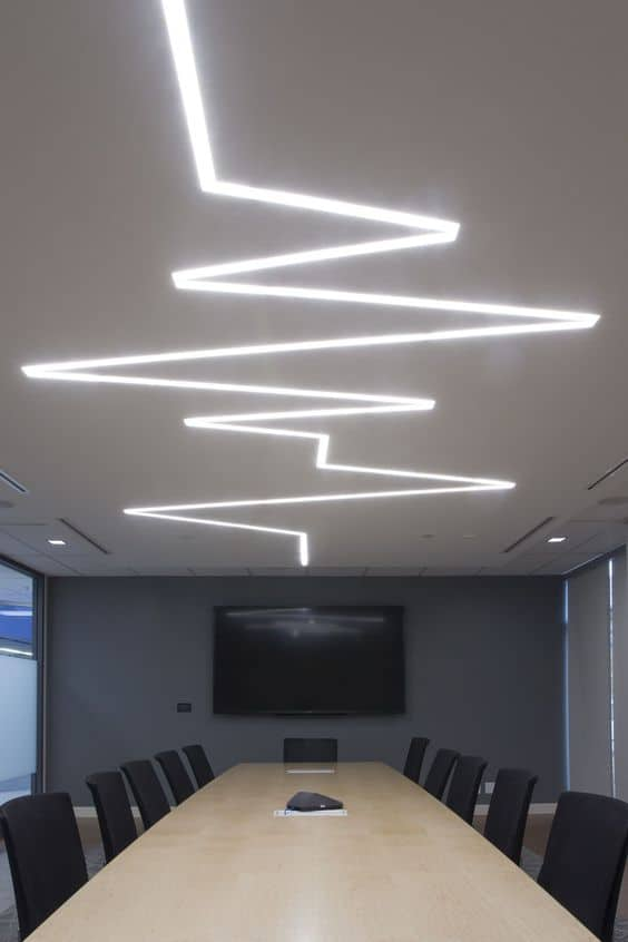 false ceiling lighting