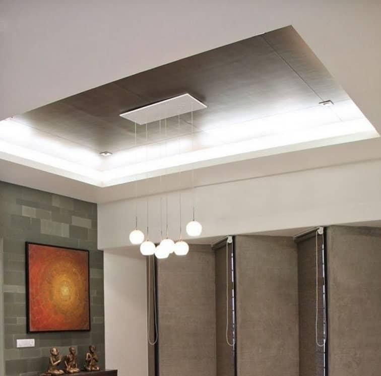 metallic false ceiling