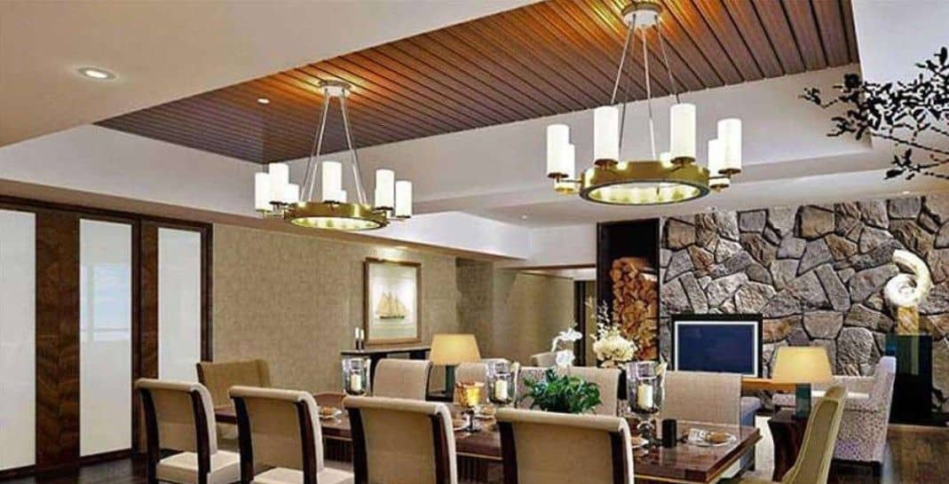 wooden false ceiling designs for drawing room