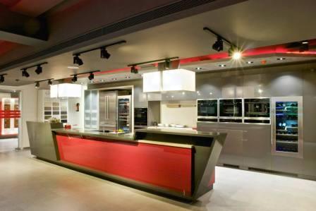 Premium kitchens display