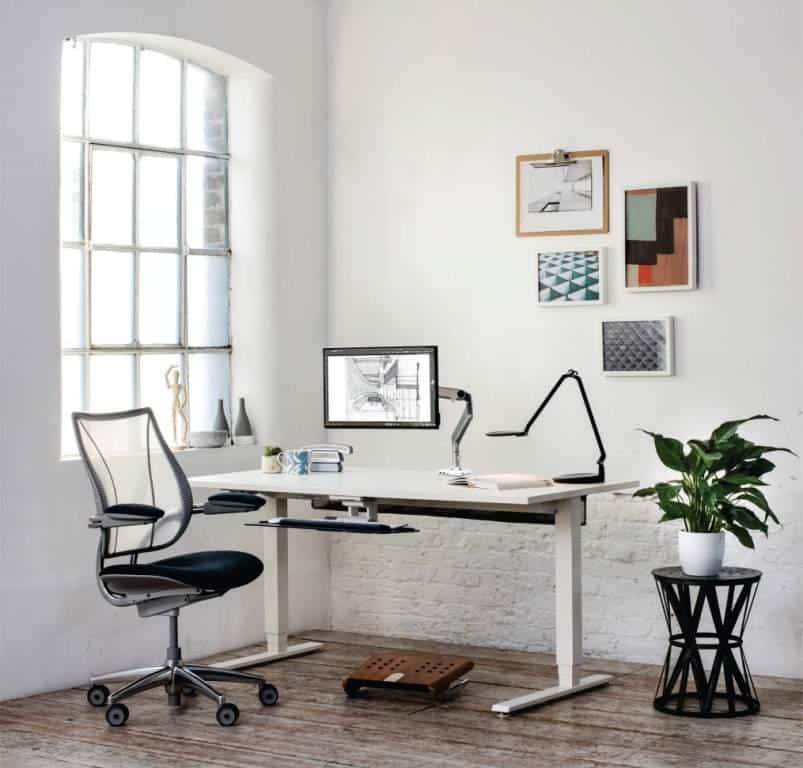 Ergonomic work from home furniture by Humanscale brought in India by S Cube