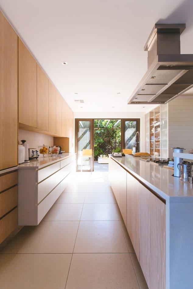 storage areas in modular kitchens