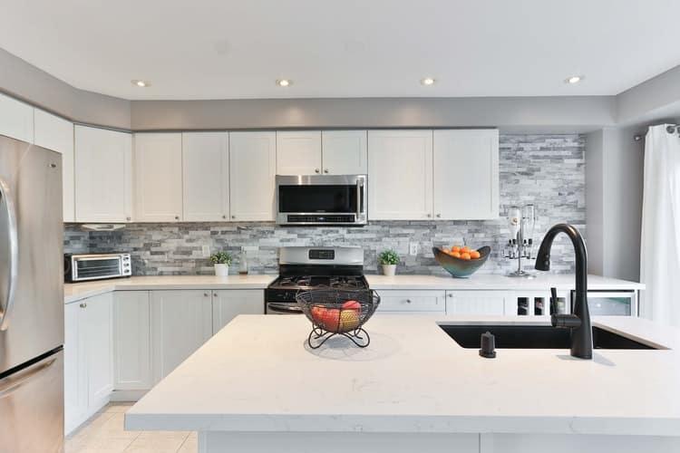 modular kitchen countertop