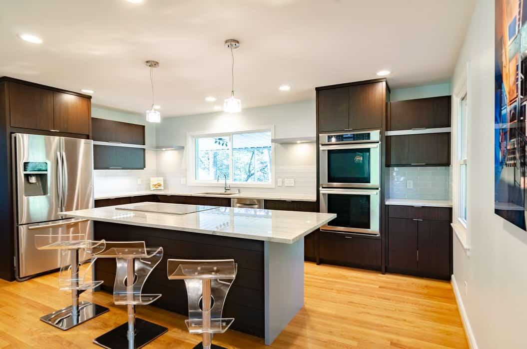 modular kitchen lighting