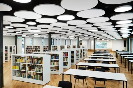 armstrong floating ceilings SoundScapes Shapes