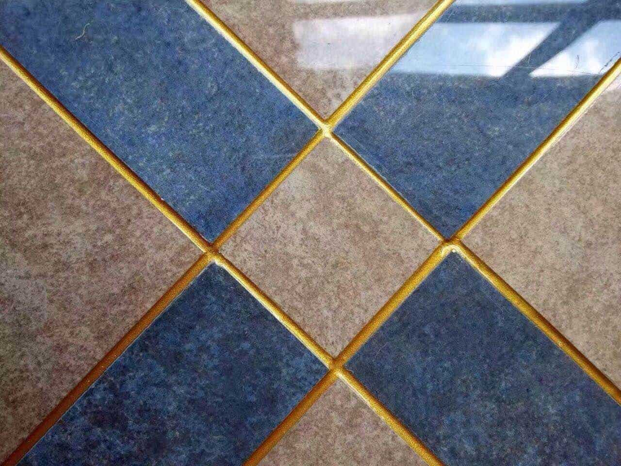 colourful Expoxy grout