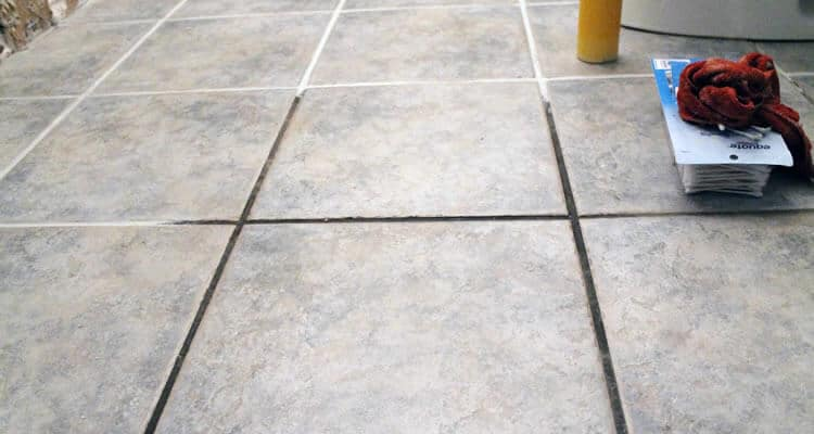 grout for tiles without epoxy with injection