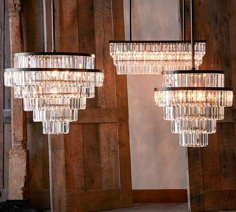 crystal ceiling chandelier for living room