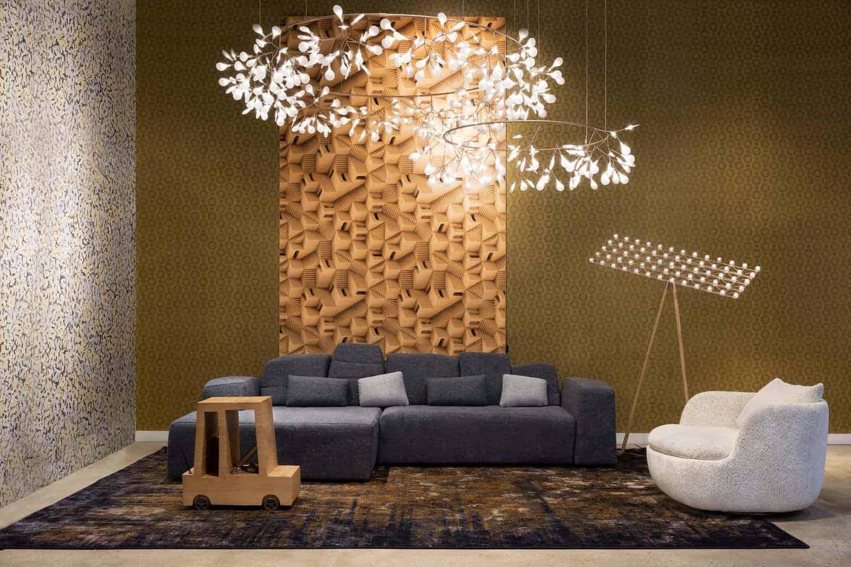 flower chandelier for living room
