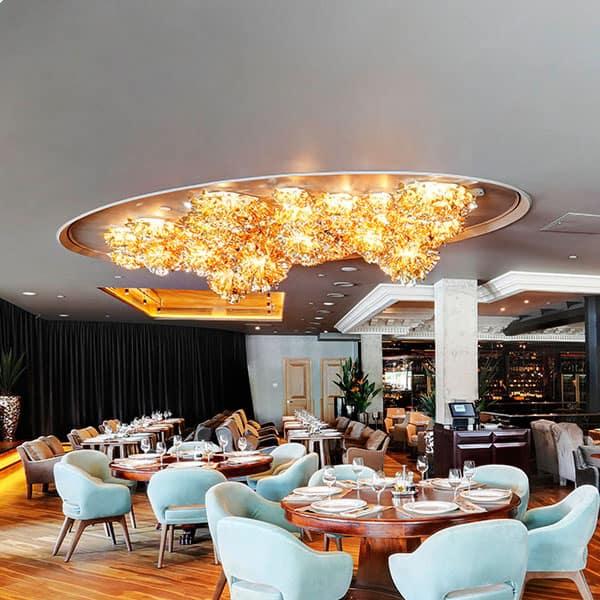 ceiling lighting for hotel