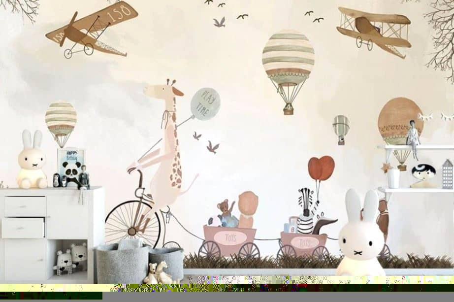 wall design for kids room