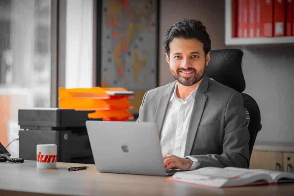 Mr.Nadeem Patni, Managing Director, Blum India Pvt.Ltd.