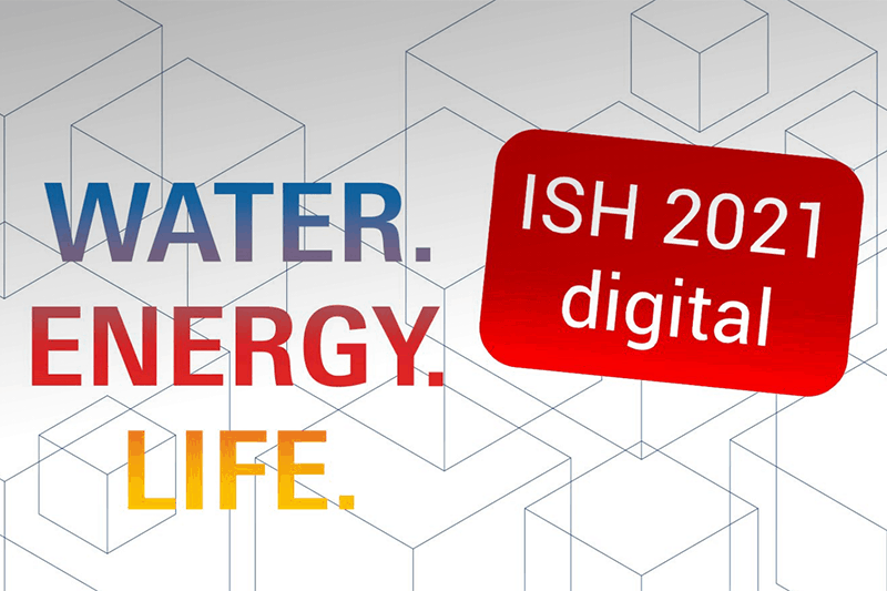 ISH 2021: Witness the latest bathroom trends, sanitation and HVAC solutions from the comfort of your office/home!