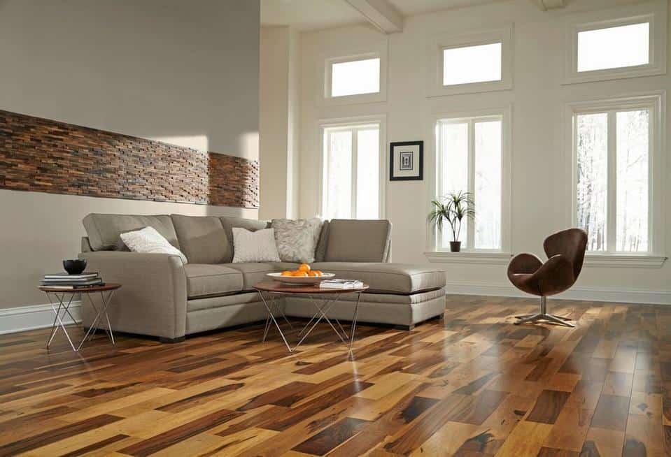 flooring with veneer