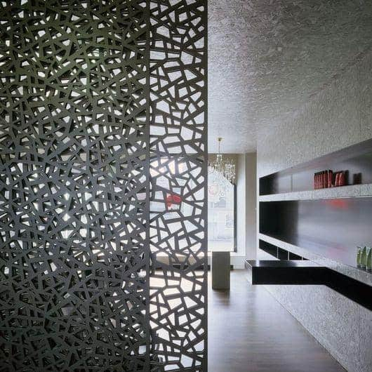 partition wall design using MDF sheet