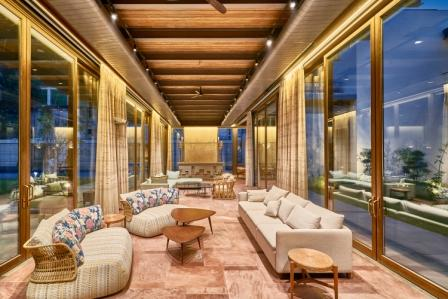 Wooden ceiling flooring and furniture with sustainability