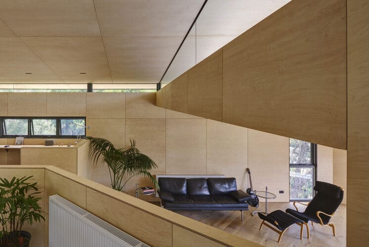 wall panels as birch plywood lining made from plywood sheets