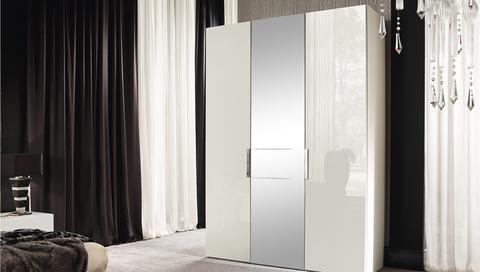Canova white stylish cupboard