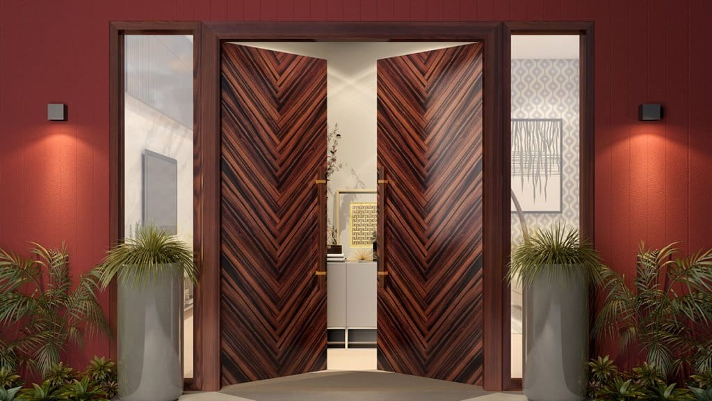 veneer door design