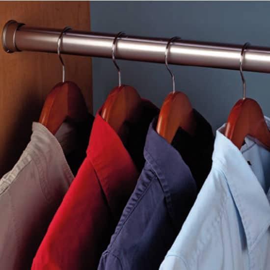 wardrobes hanger rail to hang shirts