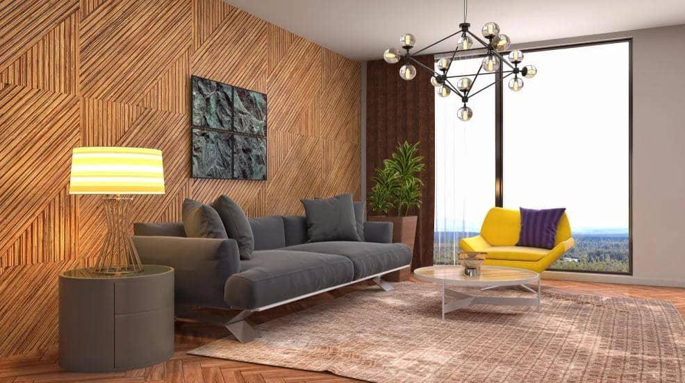 wood veneer wall panelling, laminate vs veneer
