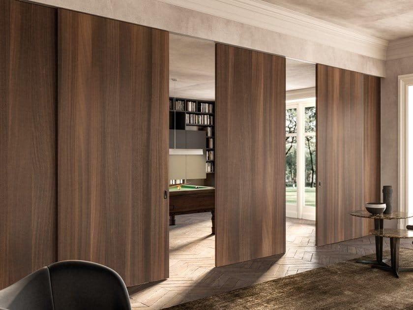 sliding plywood door