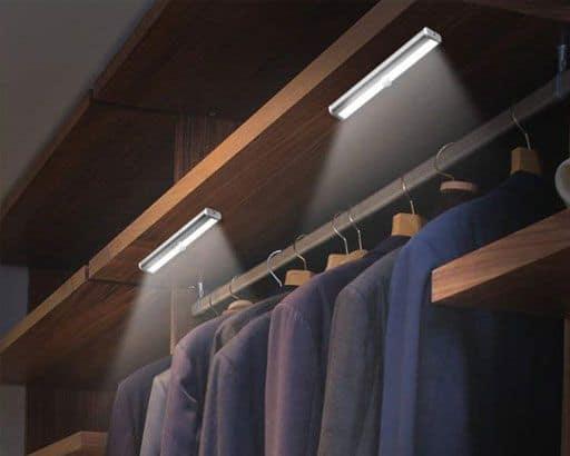 Light bars wardrobes lights