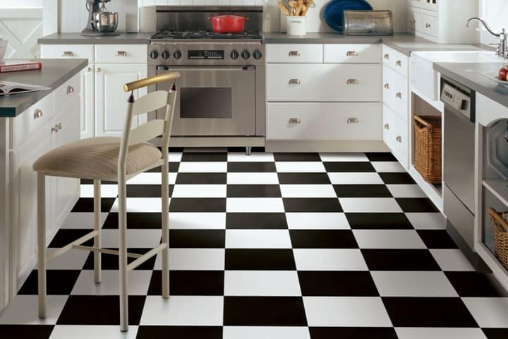 black and white mdf board flooring