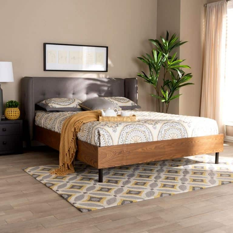platform bed made with plywood sheets