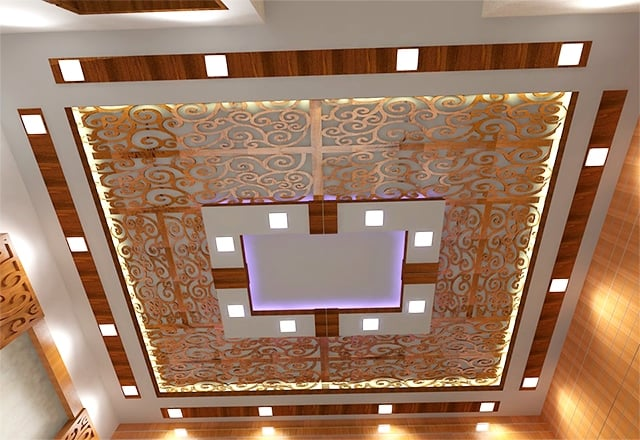 MDF jali for ceiling grill