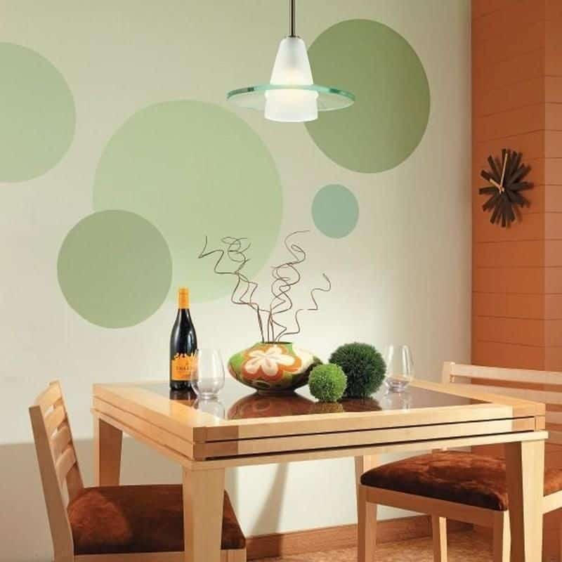 simple wall paint design