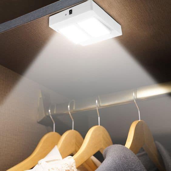 LED wardrobe light for all wardrobes