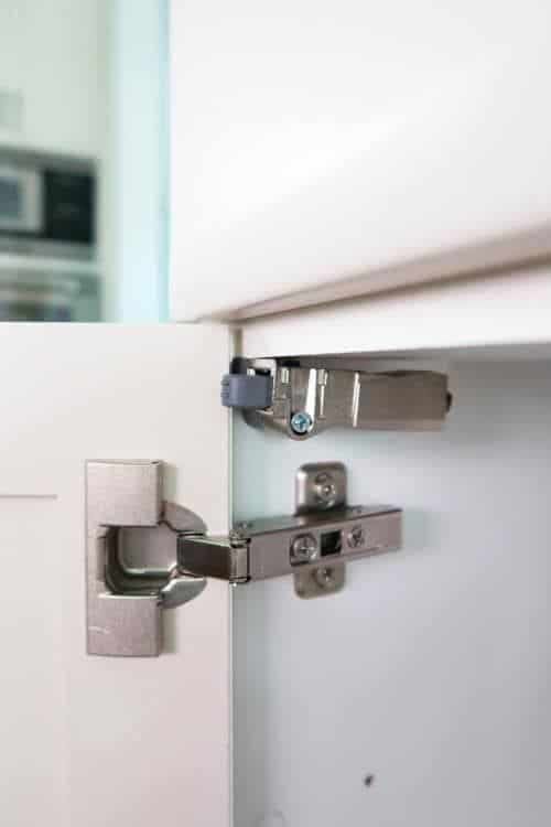 silver soft close hinges with white wardrobe interior design drawer systems