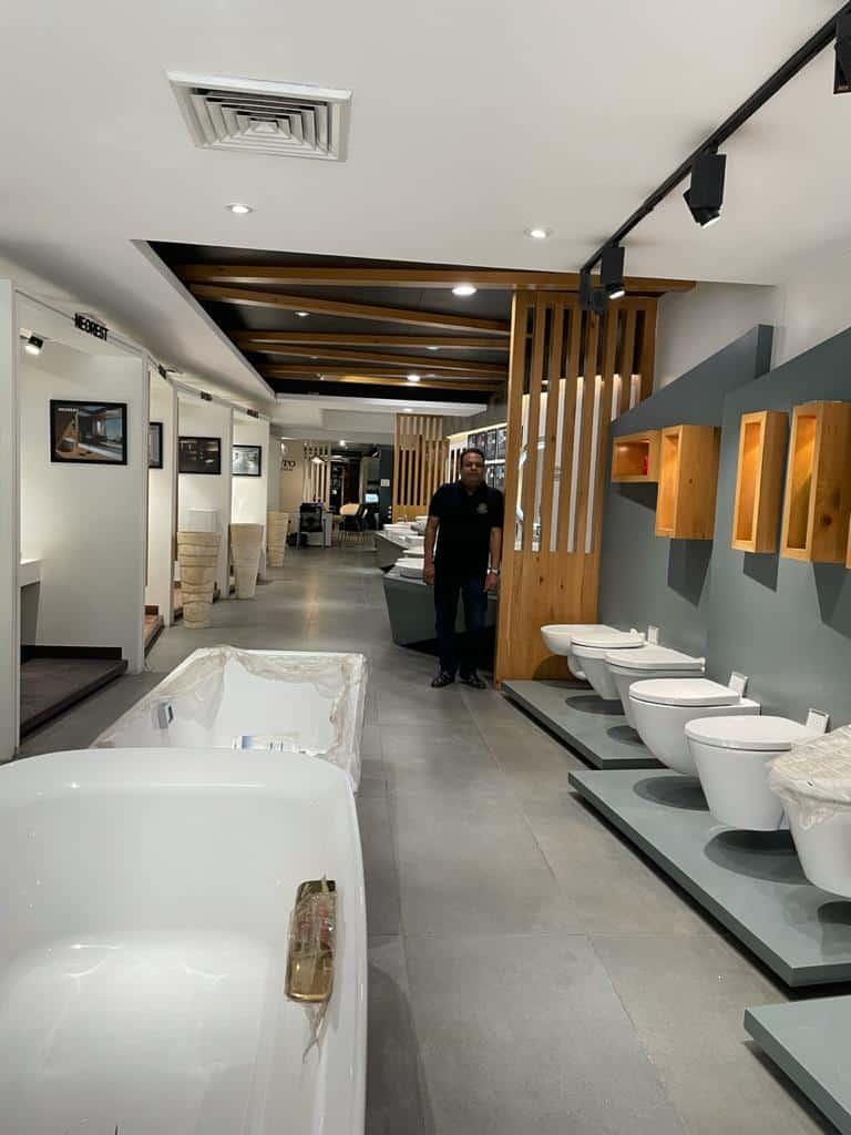 Gupta Bath World- interiors