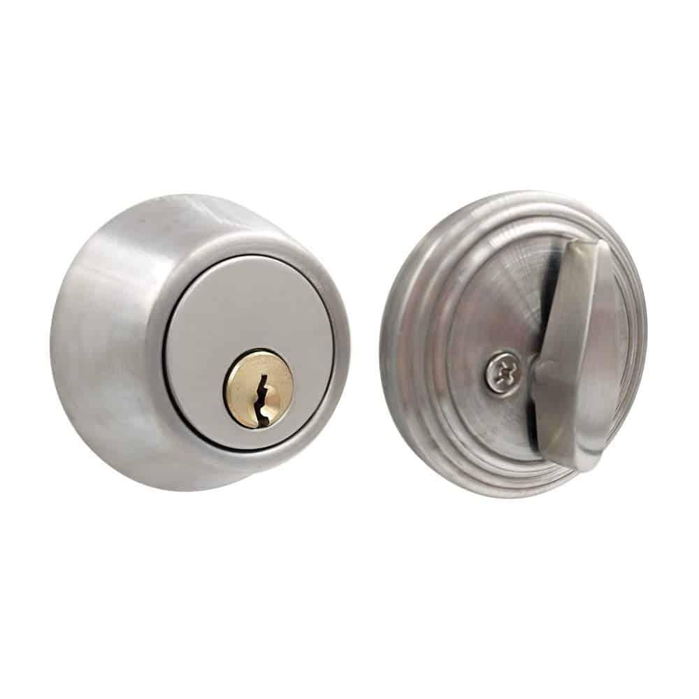 thumb turn-only deadbolt door locks