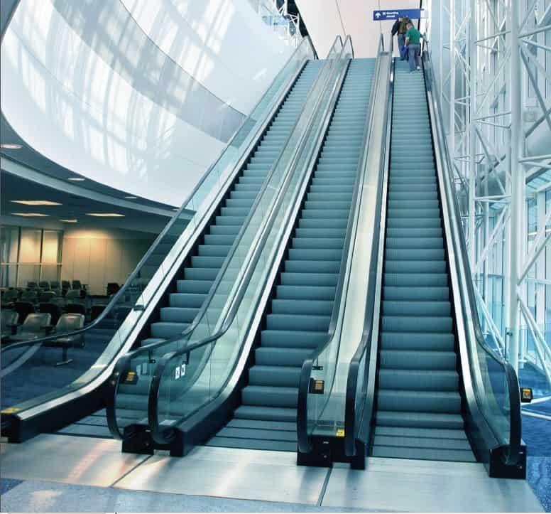 Multi parallel escalator