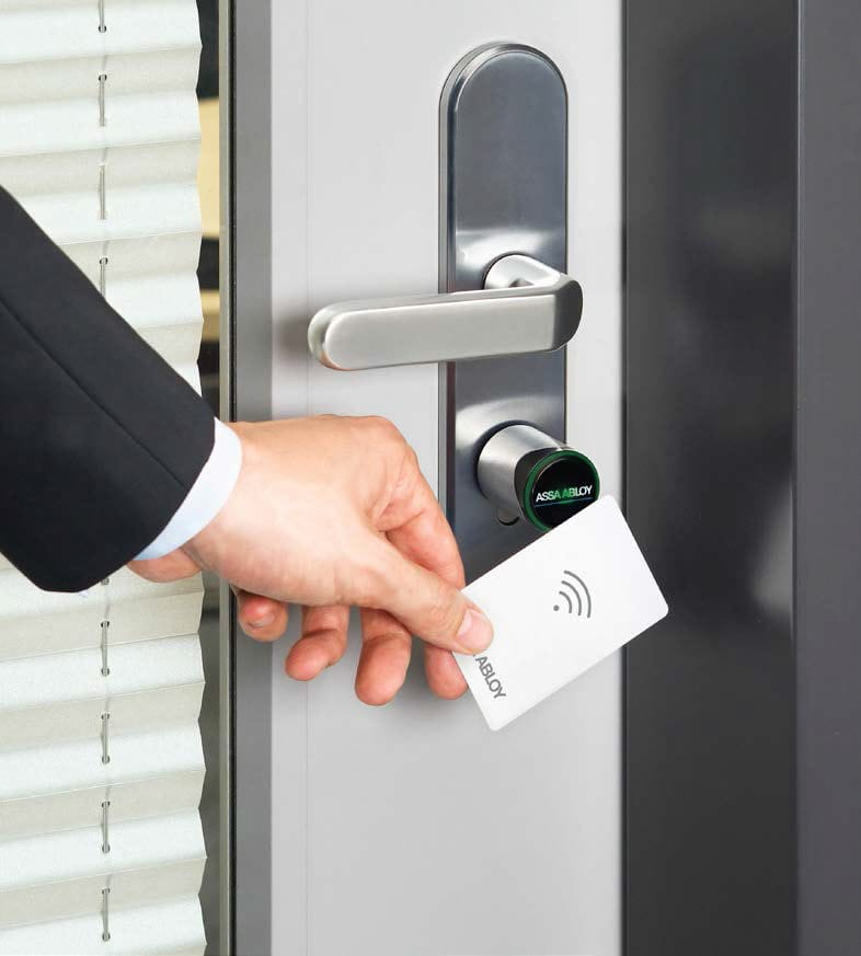 electronic door lock, RFID lock to replace a padlock