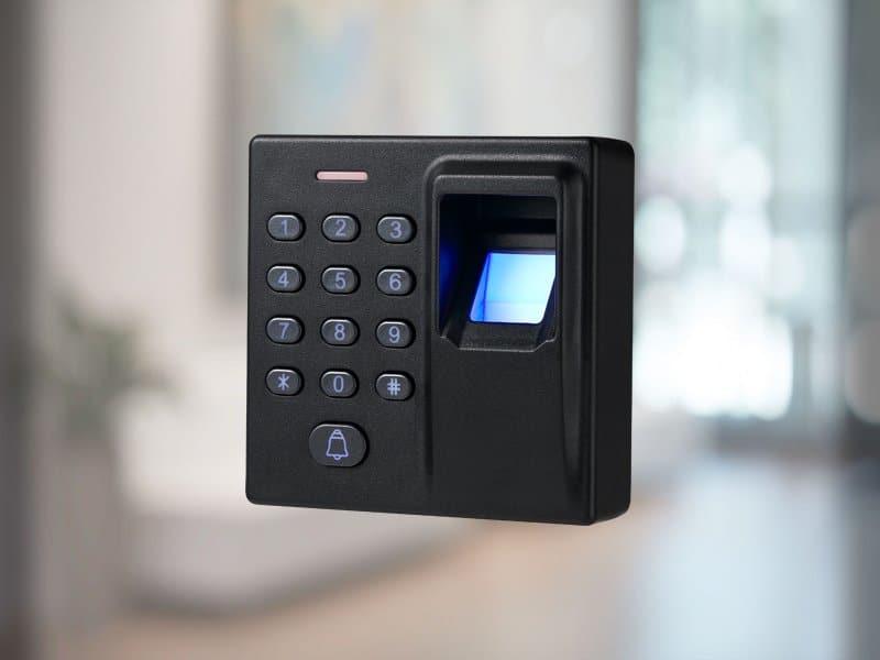 fingerprint door locks to replace a padlock