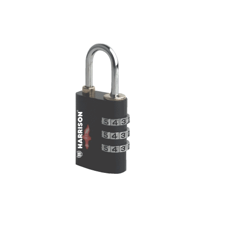 combination padlock, harrison locks