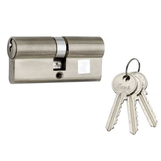 double cylinder lock, link locks