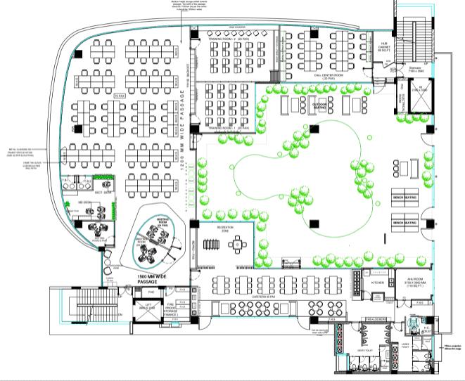 Kohler Innovation Center 3rd floor plan
