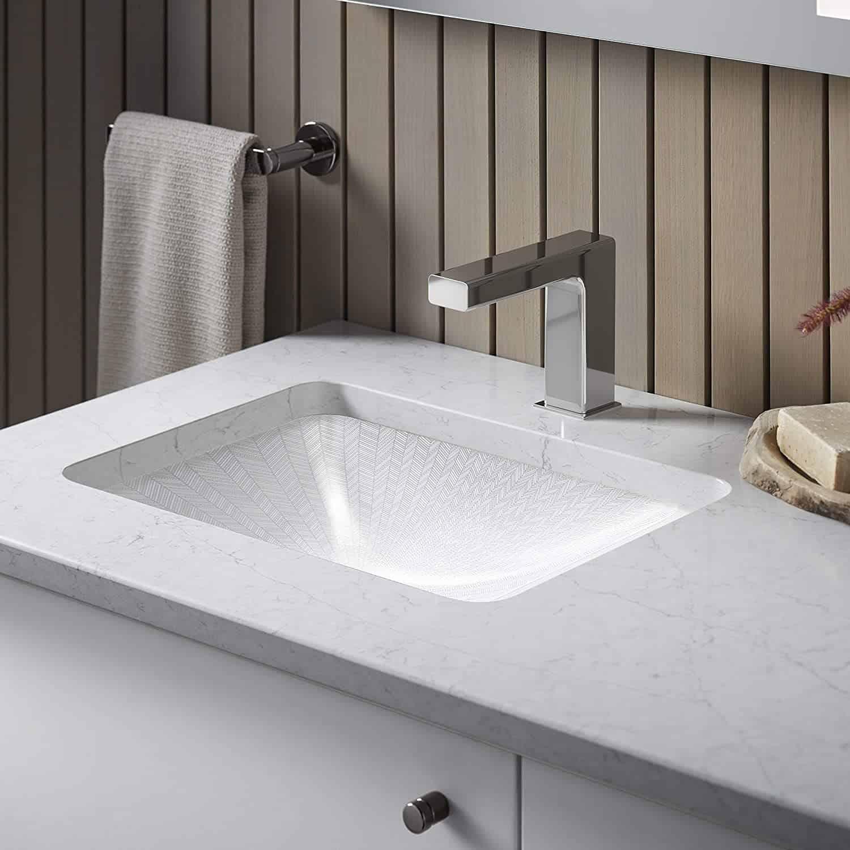 Kohler Strayt Sensor Faucet; building materials industry