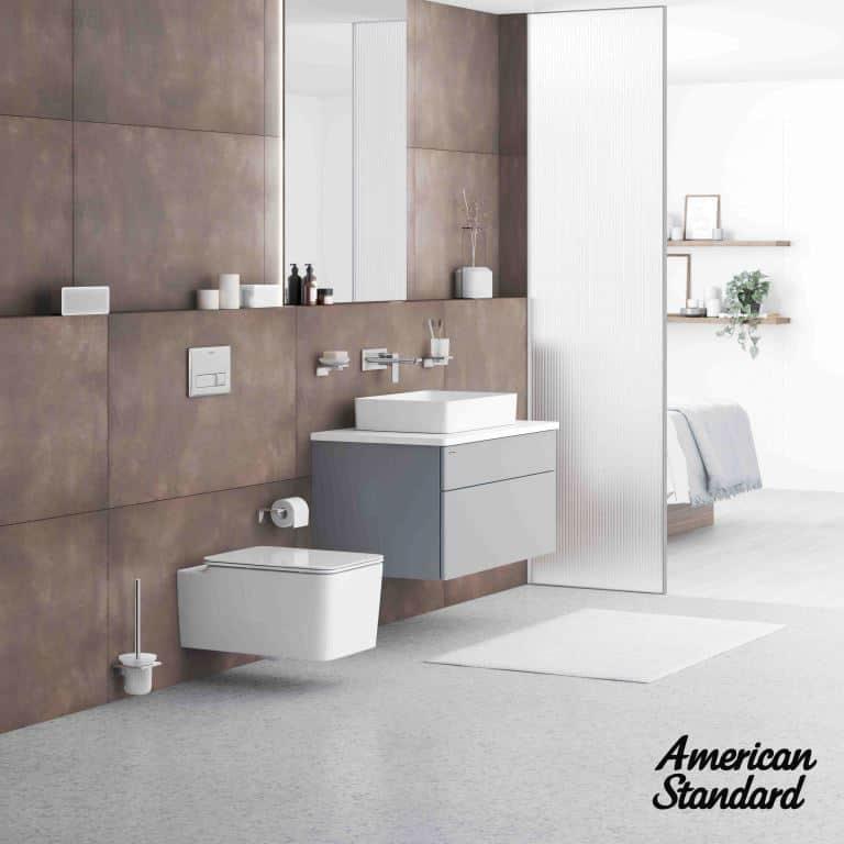 Acacia SupaSleek Square Wall Hung Toilet