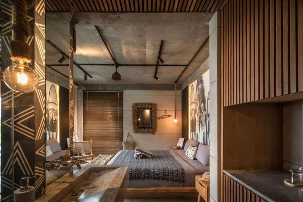 tropical home interior bedroom design