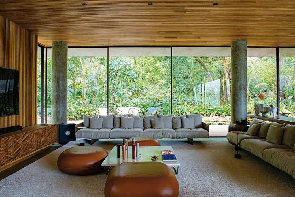 modern living room designs with glass walls, modern home design interior, living room design