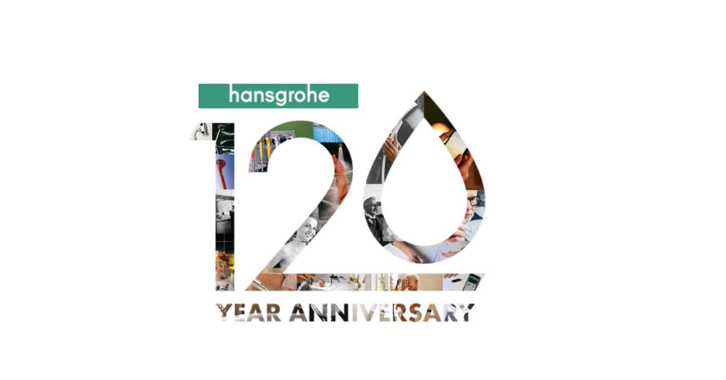 Hansgrohe Group celebrates 120 years of exemplifying passion for water
