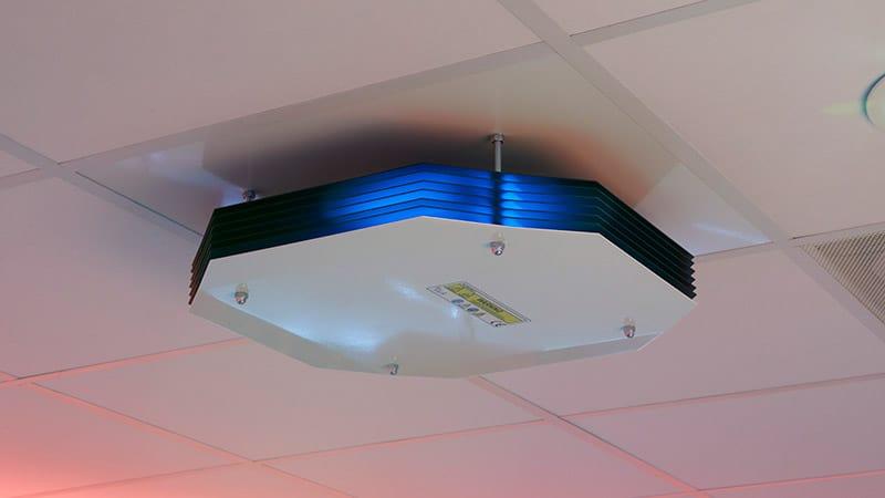 Signify UV-C Upper air luminaire; building materials industry